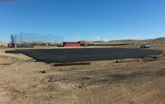 The Asphalt is Down!